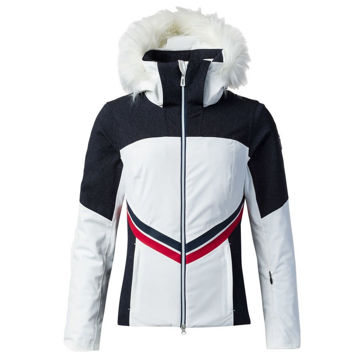 Picture of ROSSIGNOL ALPINE SKI JACKETS EMBLEME DENIM WHITE FOR WOMEN
