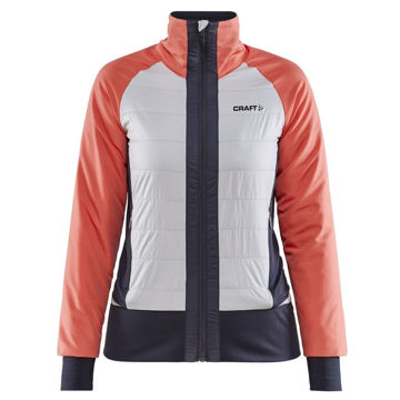 Picture of CRAFT CROSS COUNTRY SKI JACKET ADV STROM INSULATE TRACE/ASPHALT FOR WOMEN