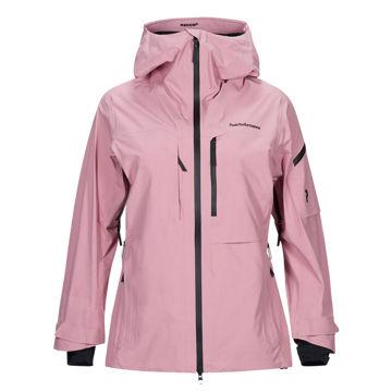 Picture of PEAK PERFORMANCE ALPINE SKI JACKETS ALPINE FROSTY ROSE FOR WOMEN
