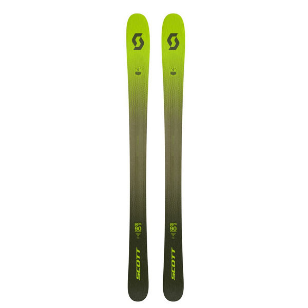 Picture of SCOTT ALPINE SKIS SCRAPPER 90 YELLOW 2021