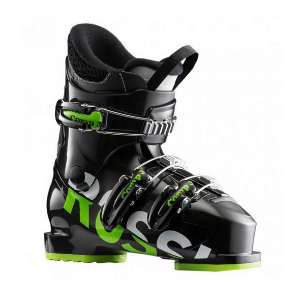 Picture of ROSSIGNOL APLINE SKI BOOTS COMP J3 BLACK/GREEN FOR JUNIORS