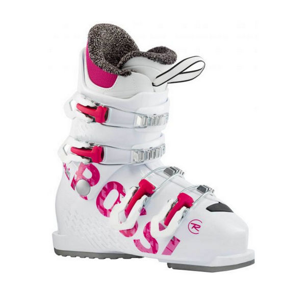 Picture of ROSSIGNOL APLINE SKI BOOTS FUN GIRL J4 WHITE/PINK FOR JUNIORS