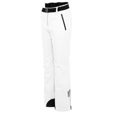Picture of COLMAR ALPINE SKI PANTS SKI PANT WITH BELT WHITE FOR WOMEN