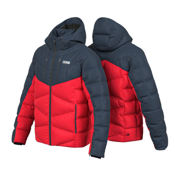 Picture of COLMAR ALPINE SKI JACKET CHAMONIX ROUGE FOR MEN