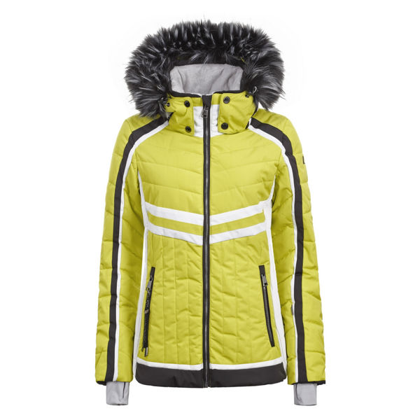 Picture of LUHTA ALPINE SKI JACKETS ELLIS YELLOW FOR WOMEN