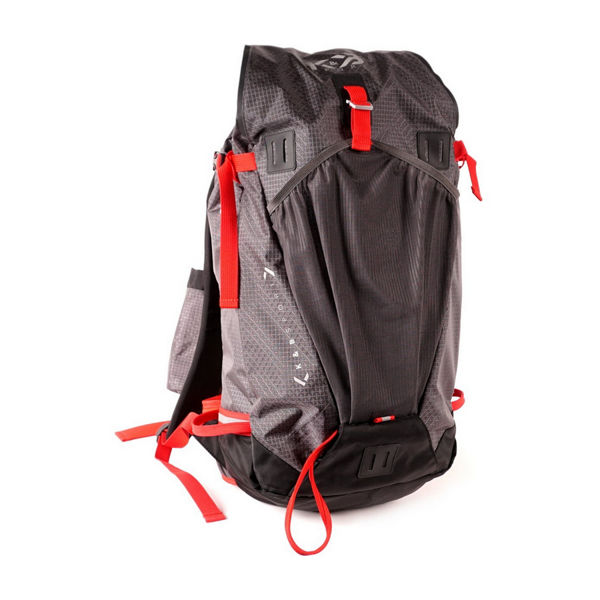 Picture of K&B ALPINE SKI BAG TOURING CHARCOAL/RED