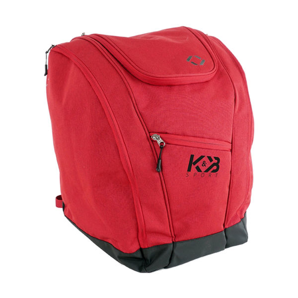 Picture of K&B ALPINE SKI BAG BOOT BACKPACK RED