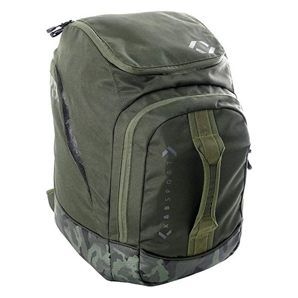 Picture of K&B ALPINE SKI BAG COPPER BACKPACK OLIVE