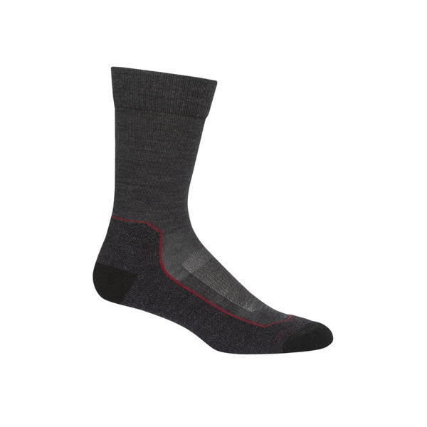Picture of ICEBREAKER SOCKS HIKE+ LIGHT GREY FOR MEN