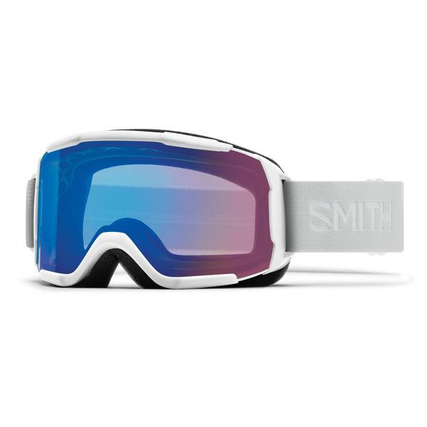 Picture of SMITH ALPINE SKI GOGGLES SHOWCASE OTG WHITE VAPOR W/ CHROMAPOP STORM ROSE FLASH