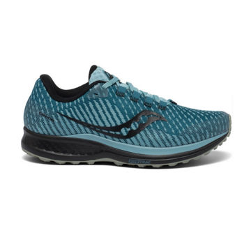 Picture of SAUCONY TRAIL RUNNING SHOES CANYON TR MARINE/BLACK FOR WOMEN