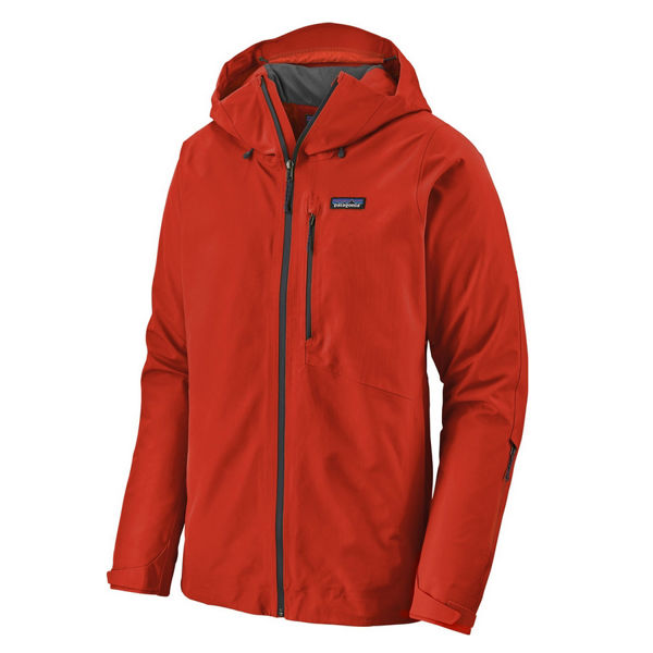 Picture of PATAGONIA ALPINE SKI JACKET INSULATED POWDER BOWL OXIDE RED FOR MEN