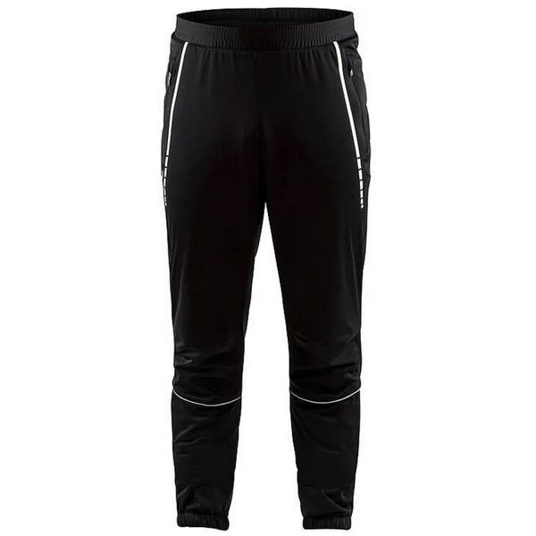 Picture of CRAFT CROSS COUNTRY SKI PANT CLUB 3/4 ZIP BLACK FOR MEN