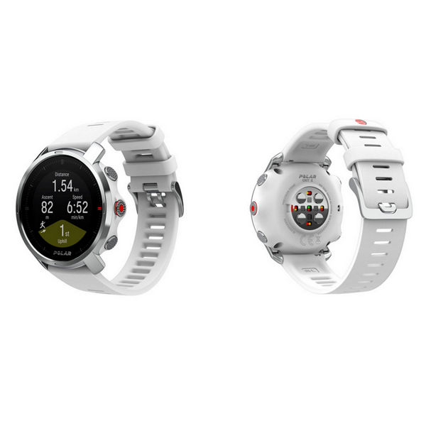 Image sur MONTRE DE COURSE À PIED POLAR GRIT X BLANC SMALL/MEDIUM