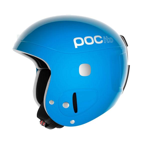 Picture of POC ALPINE SKI HELMET POCITO SKULL AJUSTABLE BLUE FOR JUNIORS