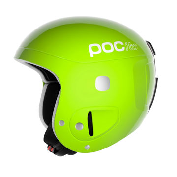 Picture of POC ALPINE SKI HELMET POCITO SKULL ADJUSTABLE YELLOW/GREEN FOR JUNIORS