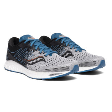 Picture of SAUCONY ROAD RUNNING SHOES FREEDOM 3 GREY/BLUE FOR MEN