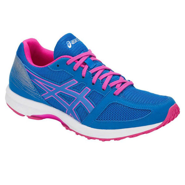 Picture of ASICS ROAD RUNNING SHOES LYTERACER 7 BLUE/PINK FOR WOMEN