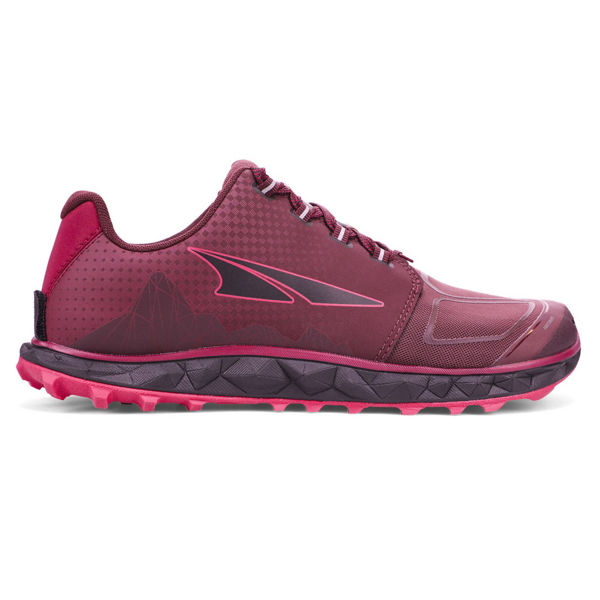 Picture of ALTRA TRAIL RUNNING SHOES SUPERIOR 4.5 BLACK/PINK FOR WOMEN