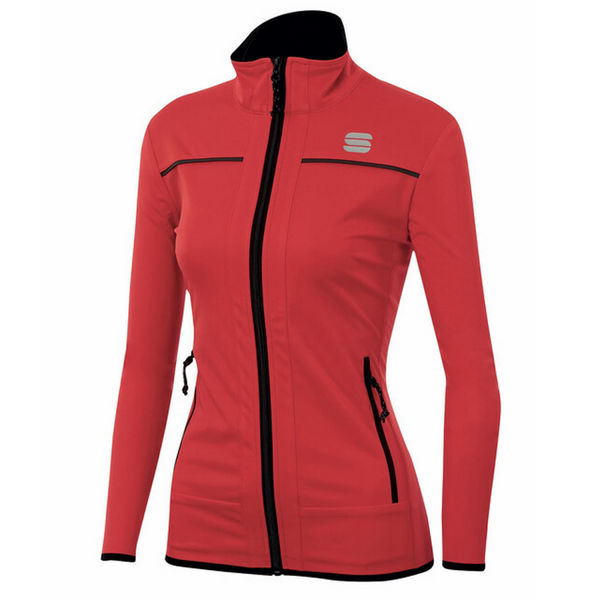 Picture of SPORTFUL CROSS COUNTRY SKI JACKET ENGADIN WIND RED FOR WOMEN