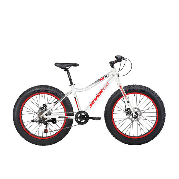Picture of SEVEN PEAKS FAT BIKE X2 YETI WHITE/RED 2020 FOR JUNIORS