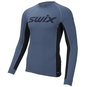 Image de CHANDAIL DE SKI DE FOND SWIX RACEX BODYWEAR BLUE SEA POUR HOMME
