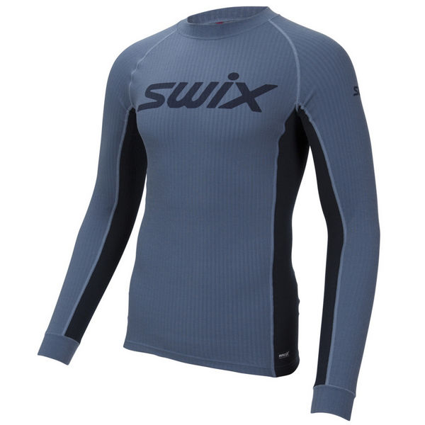 Picture of SWIX CROSS COUNTRY SKI SWEATER RACEX BODYWEAR BLUE SEA FOR MEN