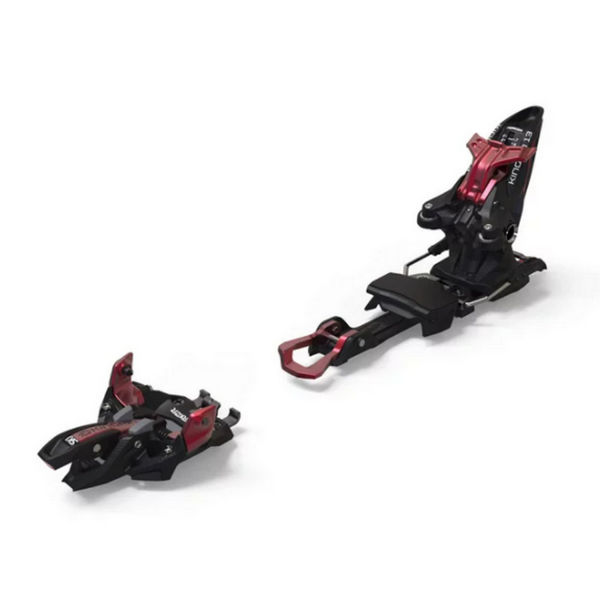 Image sur FIXATIONS DE SKI ALPIN MARKER KINGPIN 13 100-125MM ROUGE/NOIR