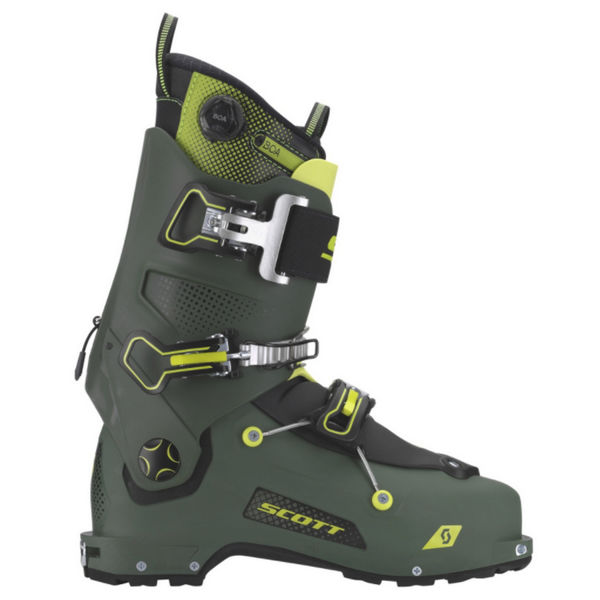 Picture of SCOTT APLINE SKI BOOTS FREEGUIDE CARBON GREEN FOR MEN