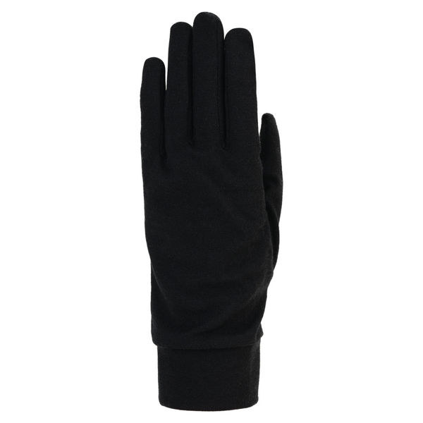 Picture of AUCLAIR GLOVES MERINO WOOL LINER BLACK