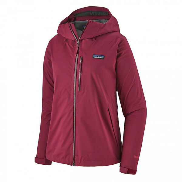 Picture of PATAGONIA RUNNING JACKET STRETCH RAINSHADOW ARROW RED FOR WOMEN