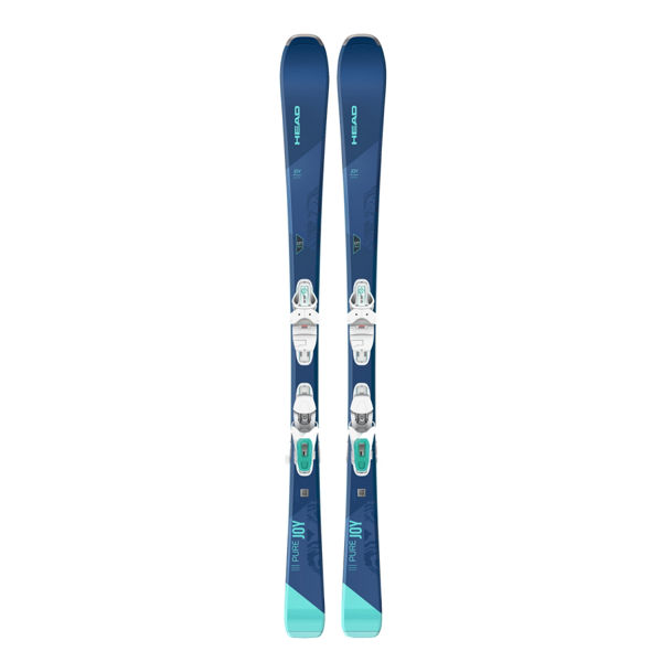 Picture of HEAD ALPINE SKIS PURE JOY 9 BLUE 2021 FOR WOMEN (WITH BINDINGS)