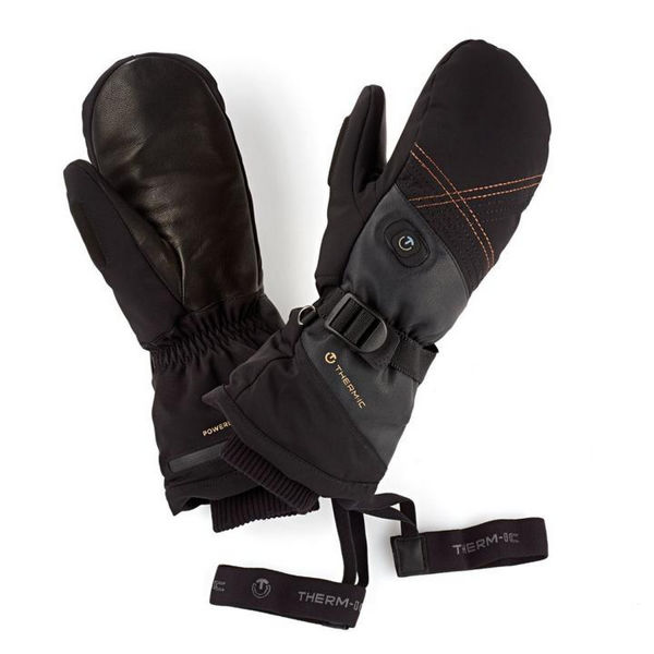 Picture of THERM-IC HEATED MITTENS ULTRA HEAT BLACK FOR WOMEN