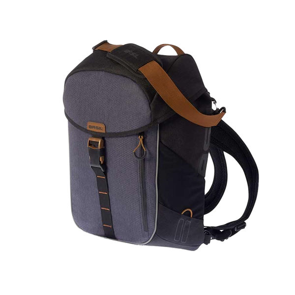 Picture of BASIL BAGS FOR BICKS MILES DAYPACK 17L BLACK/GREY