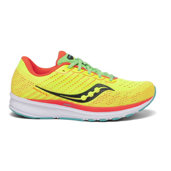 Picture of SAUCONY ROAD RUNNING SHOES CITRON RIDE 13 FOR MEN