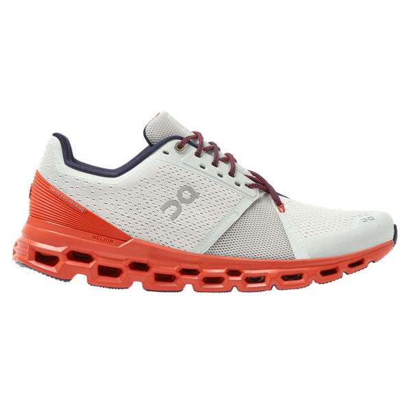 Picture of ON ROAD RUNNING SHOES CLOUDSTRATUS MINERAL/RUST FOR MEN