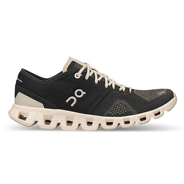 Picture of ON ROAD RUNNING SHOES CLOUD X BLACK/PEARL FOR WOMEN