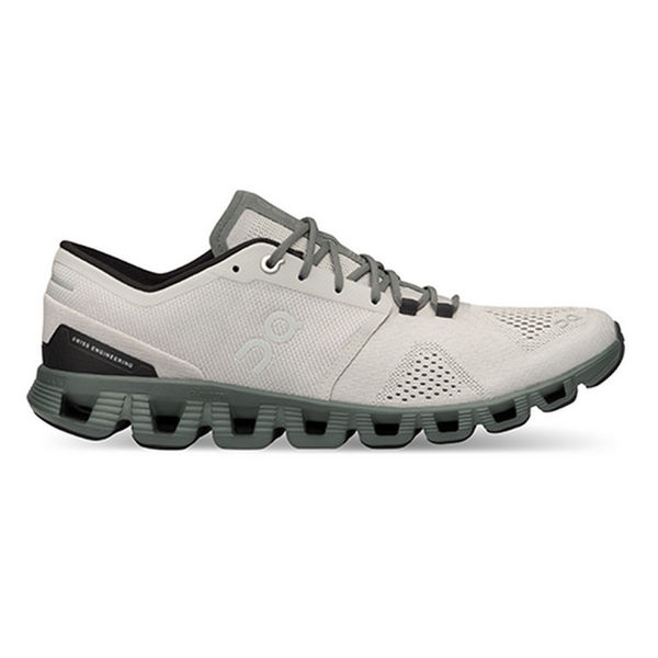 Picture of ON ROAD RUNNING SHOES CLOUD X GLACIER/OLIVE FOR MEN