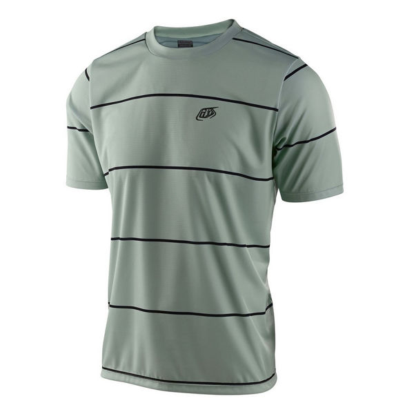 Image sur MAILLOT DE VÉLO TROY LEE DESIGNS FLOWLINE SS STACKED SMOKE GREEN POUR HOMME
