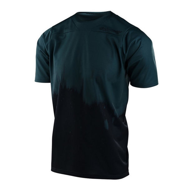 Picture of TROY LEE DESIGNS BIKE JERSEY SKYLINE SS DIFFUZE LIGHT MARINE / NAVY FOR MEN