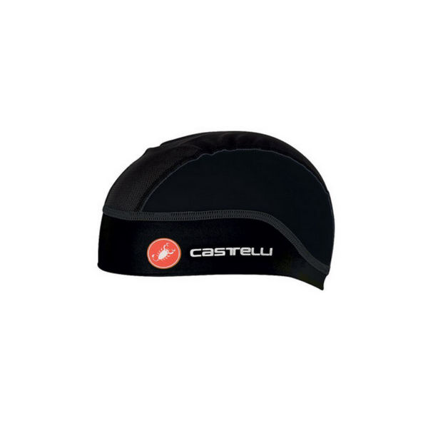 Picture of CASTELLI SUMMER SKULLCAP BLACK