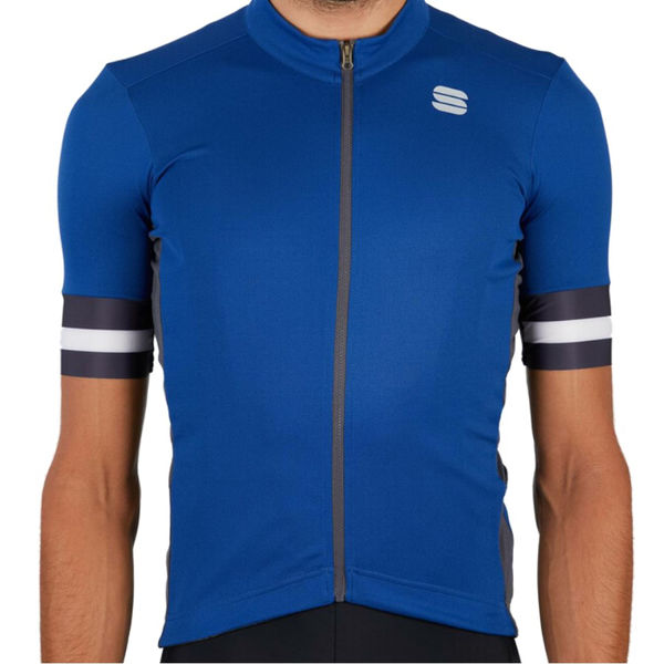 Picture of SPORTFUL BIKE JERSEY KITE BLUE CERAMIC FOR MEN