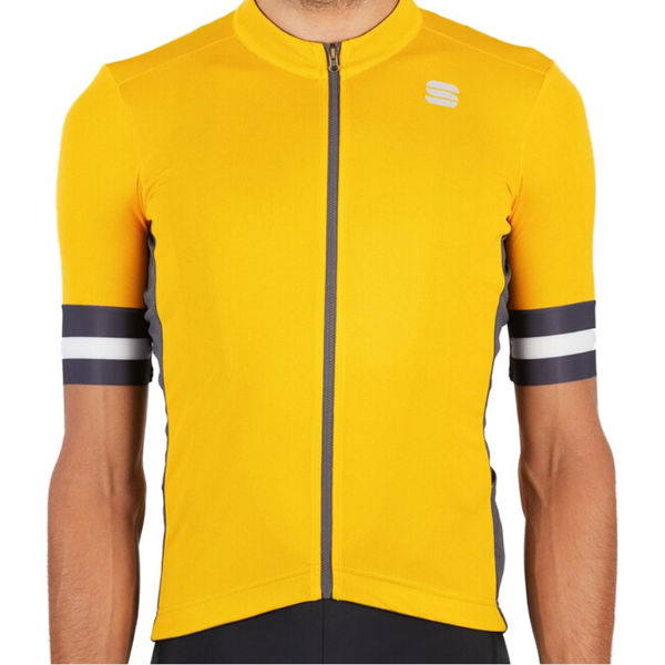 Picture of SPORTFUL BIKE JERSEY KITE YELLOW FOR MEN