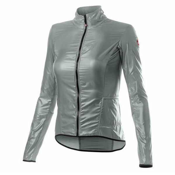 Picture of CASTELLI BIKE JACKET ARIA SHELL SILVER GREY FOR WOMEN