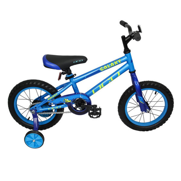 """Picture of DCO BIKE GALAXY 14"""" BLUE 2021 FOR JUNIORS"""