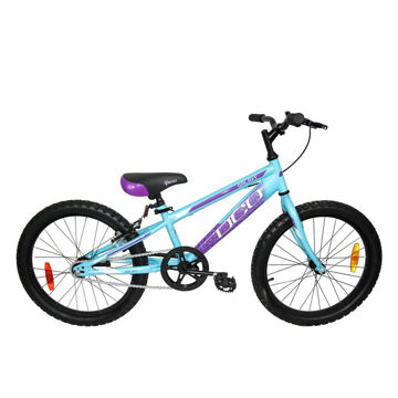 """Picture of DCO BIKE GALAXY 20"""" BLUE/PURPLE 2021 FOR JUNIORS"""