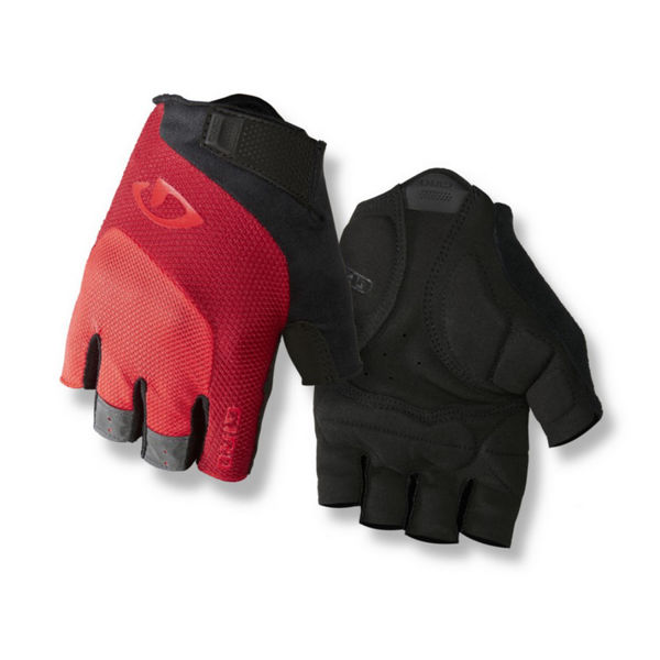 Picture of GIRO BIKE GLOVES BRAVO GEL RED