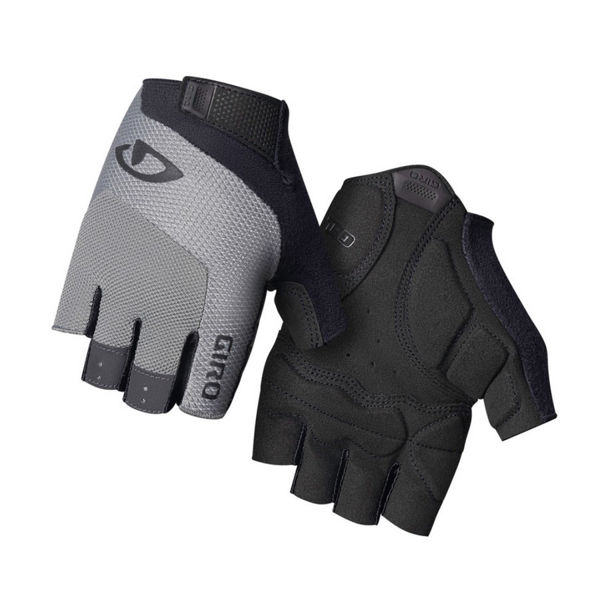 Picture of GIRO BIKE GLOVES BRAVO GEL CHARCOAL