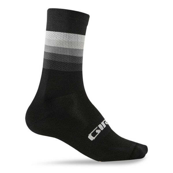 Picture of GIRO SOCKS COMP HIGH RISE BLACK/WHITE