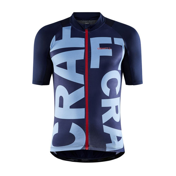 Picture of CRAFT BIKE JERSEY ADV ENDUR GRAPHIC BLAZE/ATMOS FOR MEN